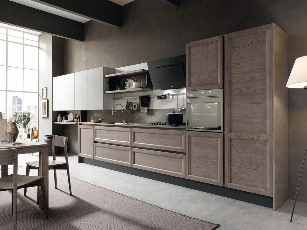 Cucina classica in rivisitazione moderna Febal - modello Class Line
