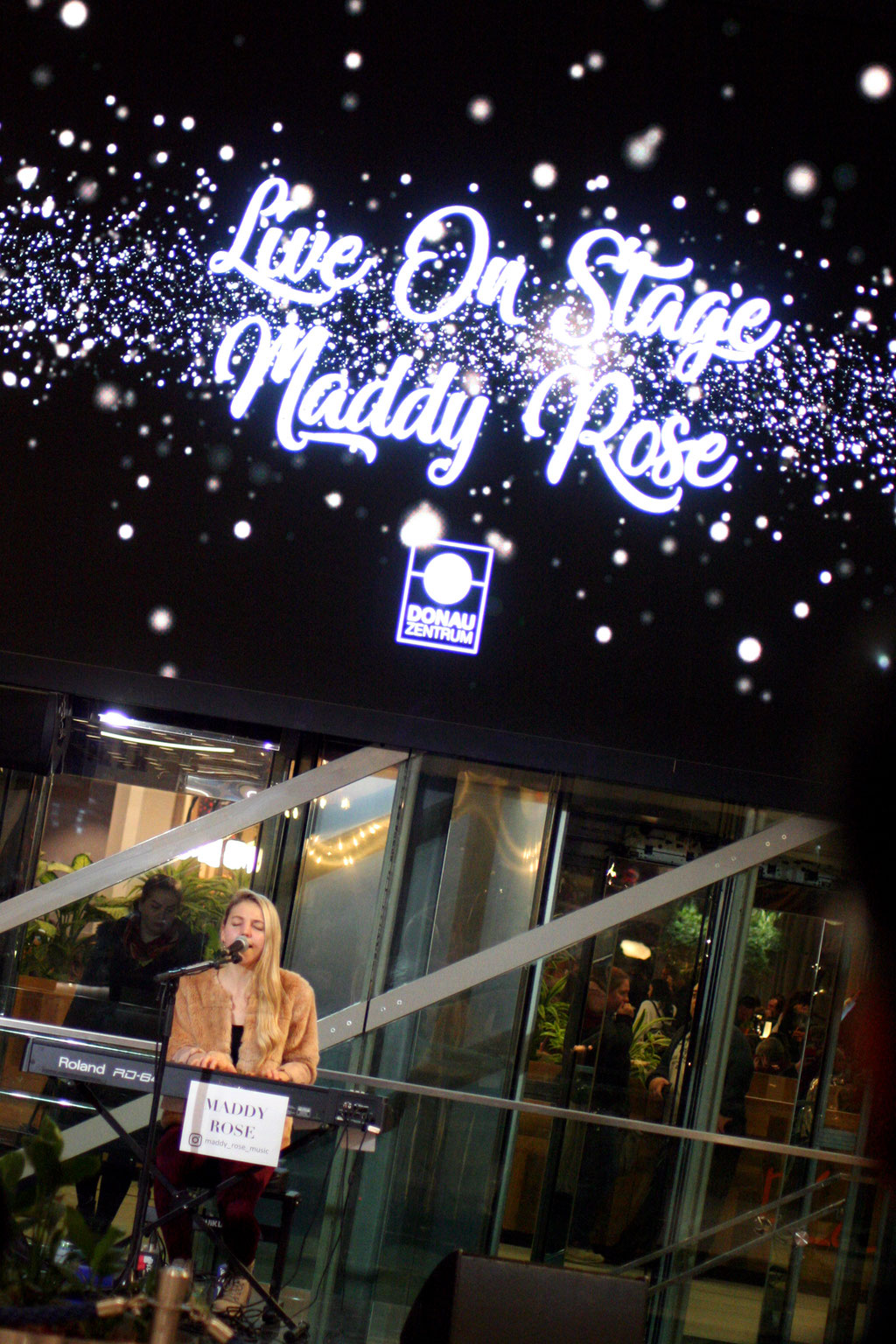 Maddy Rose @ The Kitchen, Donauzentrum, 16.11.2019 (c) miggl.at