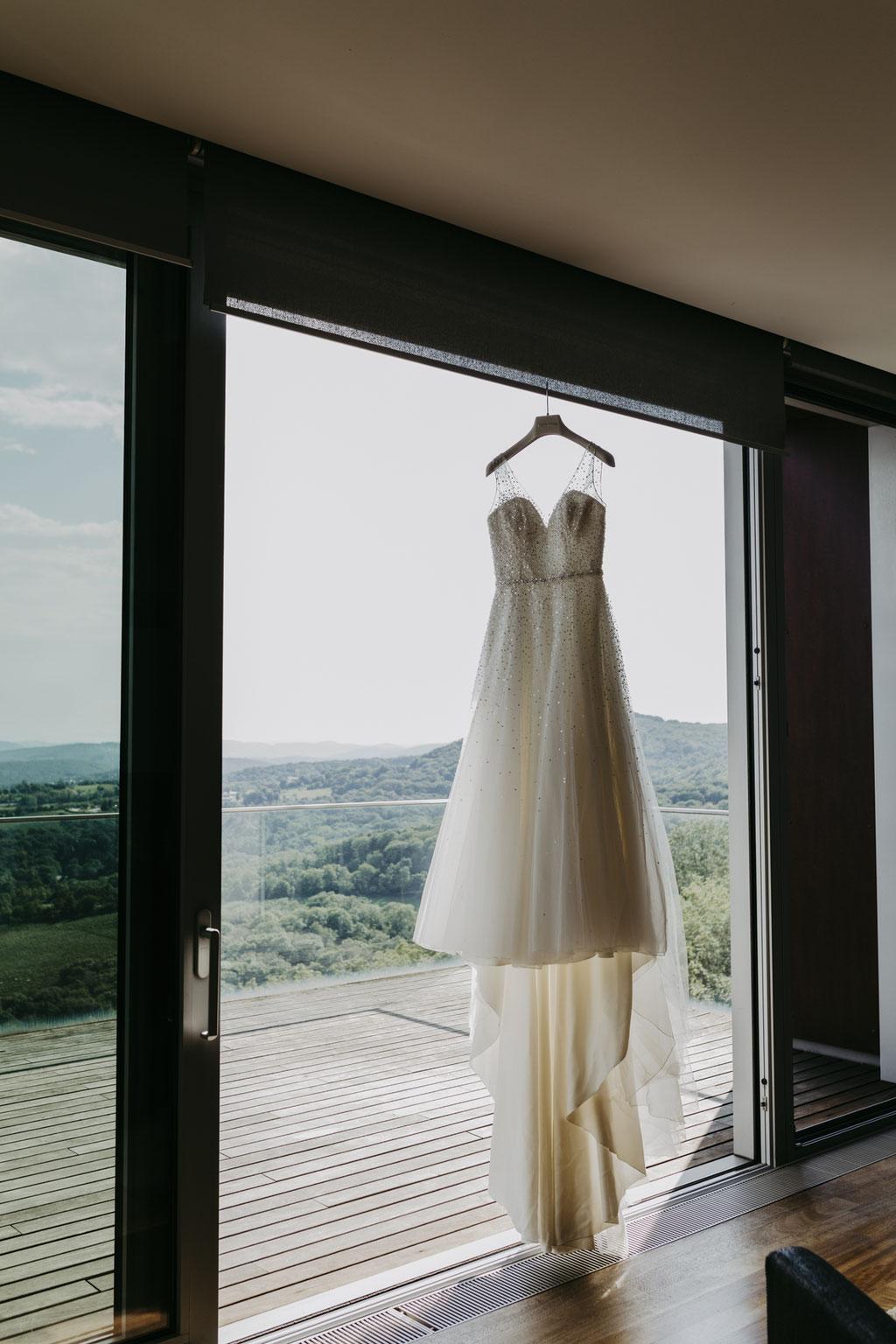 das Traumkleid einer Braut