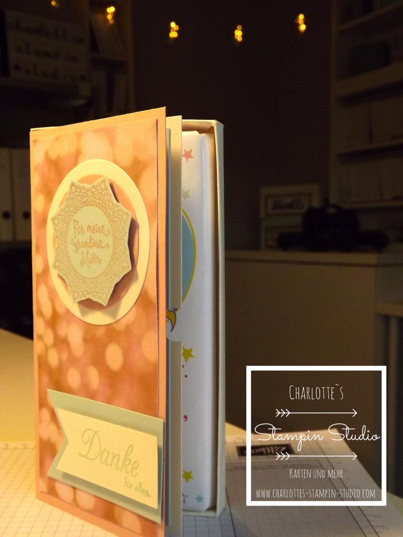 Stampin Up! Muttertag, Schokoladen-Karten-Box