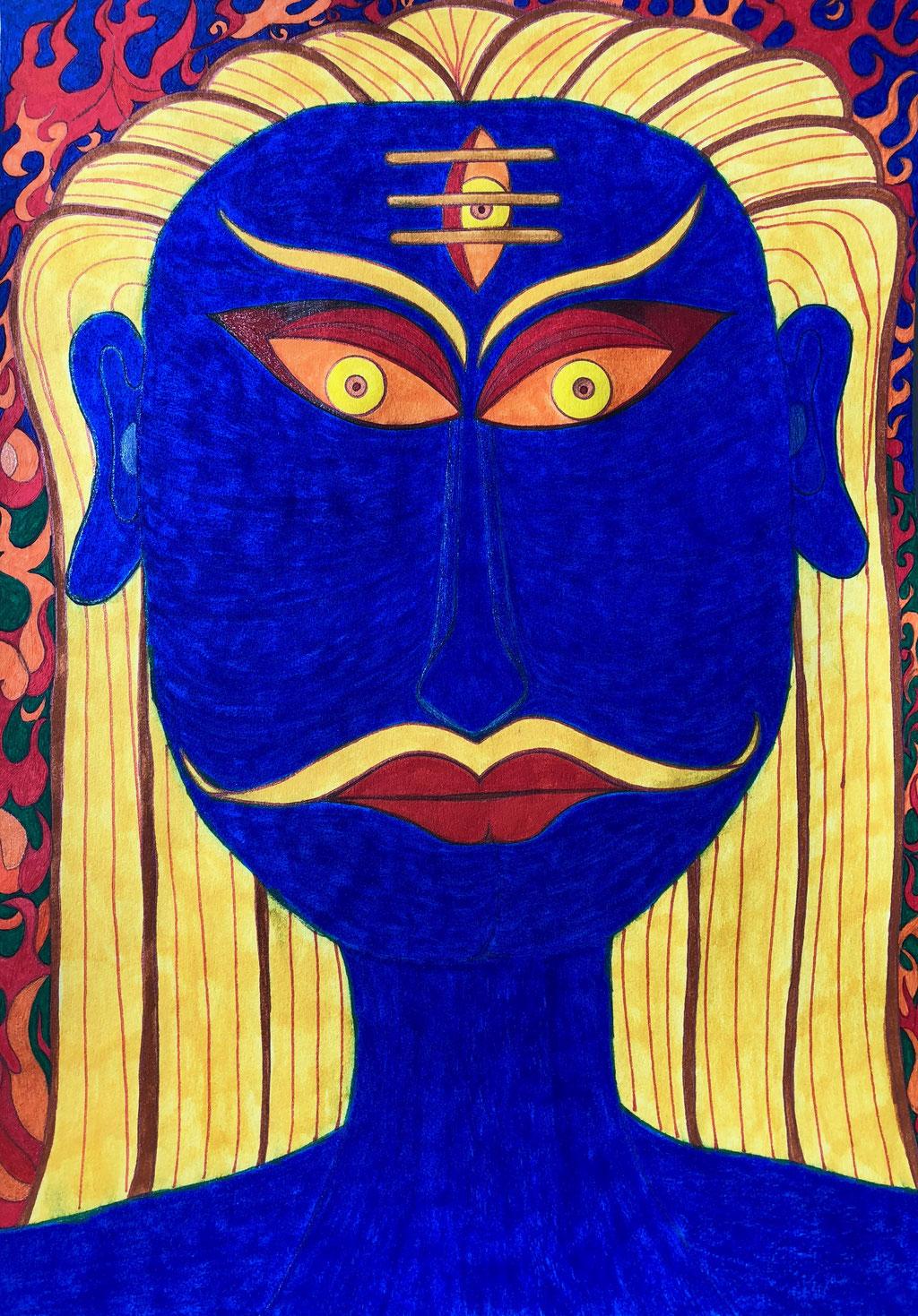 Mahocchushma Bhairava