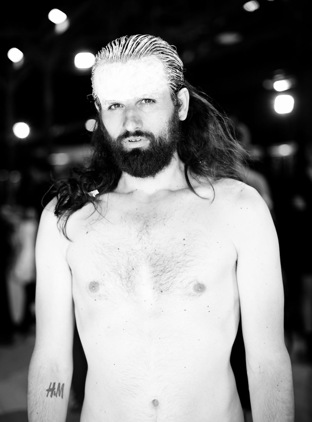 BACKSTAGE MADS DINESEN | HYERES 2011