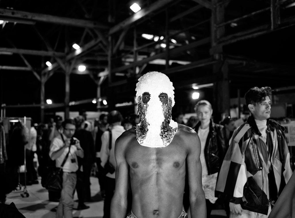 BACKSTAGE MADS DINESEN |HYERES 2011