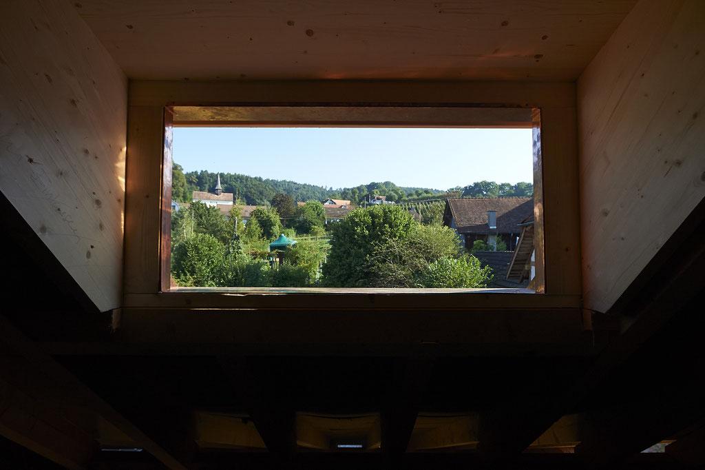 Der Ausblick aus einem der Wyttenbach-Zimmer.