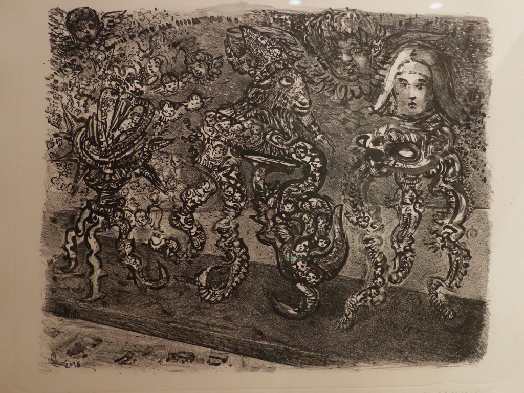 Bataclan 2015, Lithographie, 30 x 24 cm