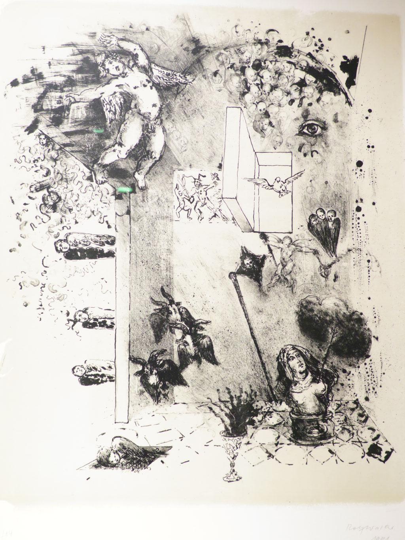 Das Auge 1991, Lithographie, 57 x 46 cm