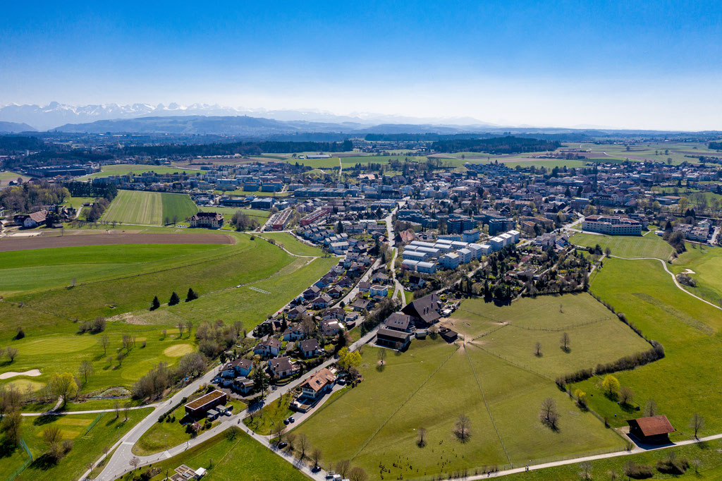 Drohnenfotografie - Gemeinde Münchenbuchsee