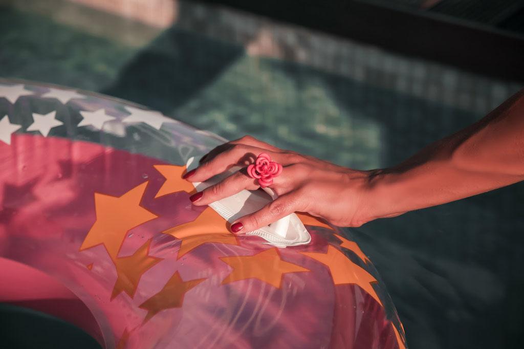 Nobahar Design Milano contemporary design jewelry-flower ring-elisa zanetti -Daily wearable design