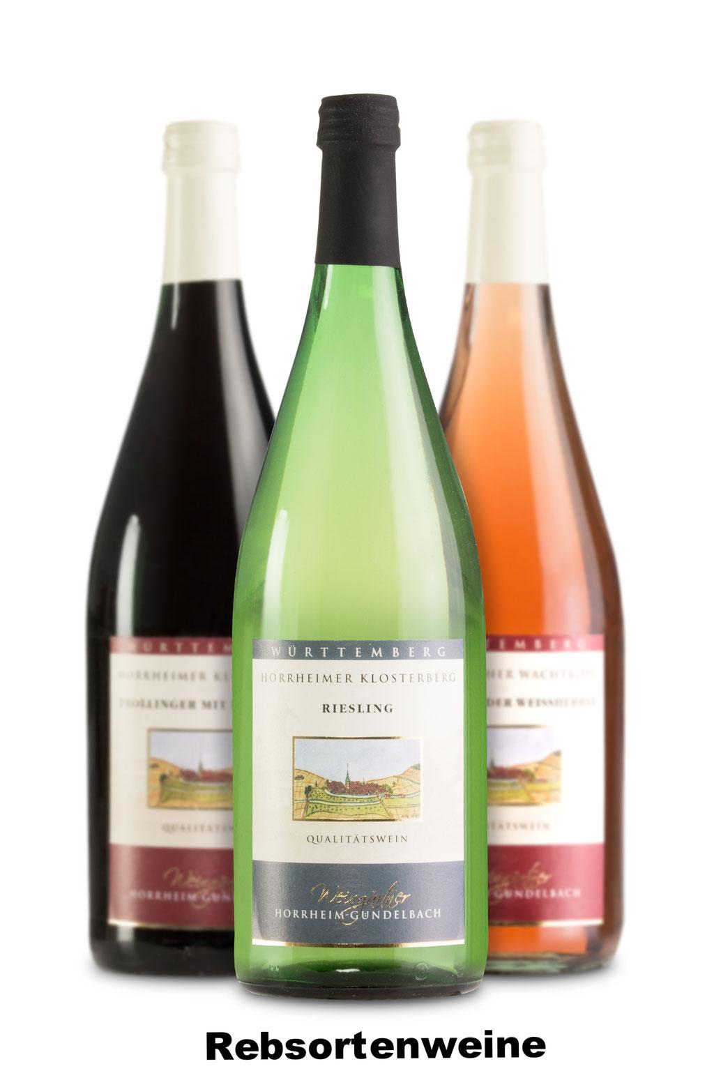Rebsortenweine, Weingärtner Horrheim-Gündelbach