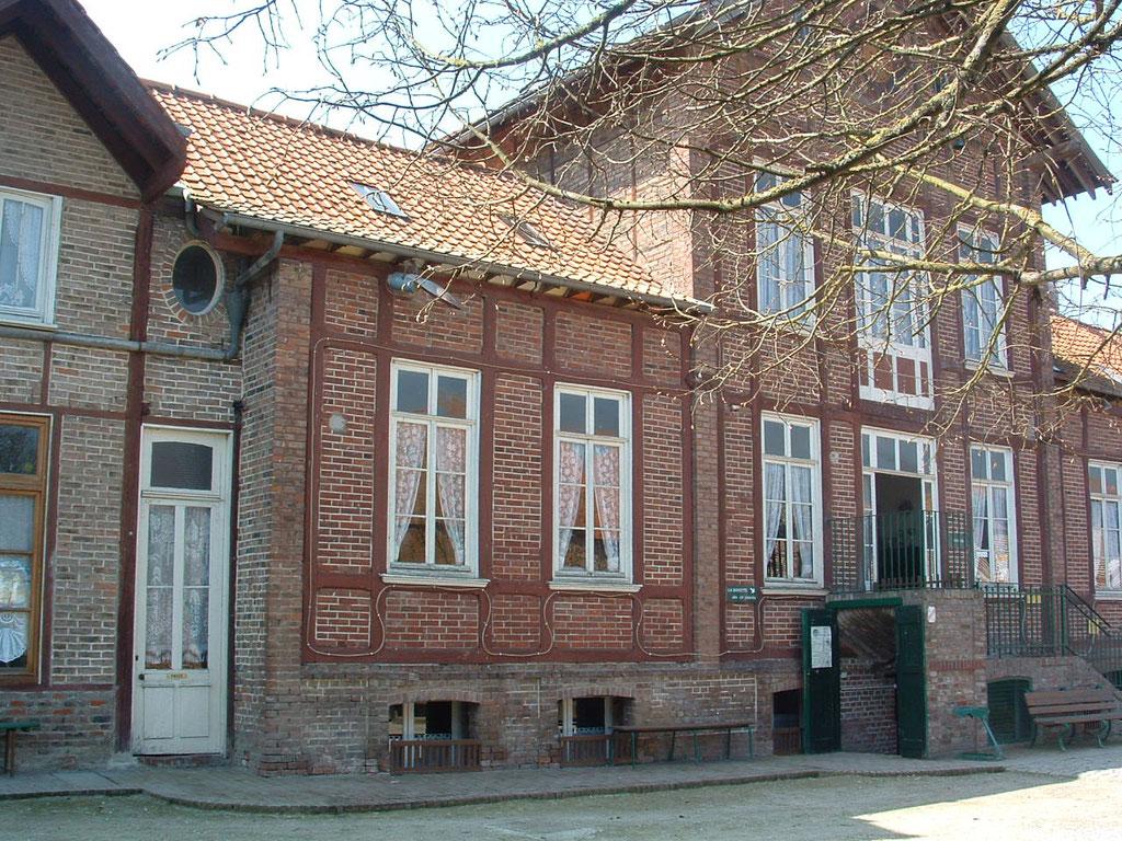Ferme d'Antan, le bâtiment principal, après travaux
