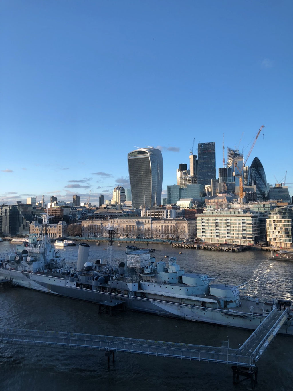 The great view from London & Partners, where the launch is held