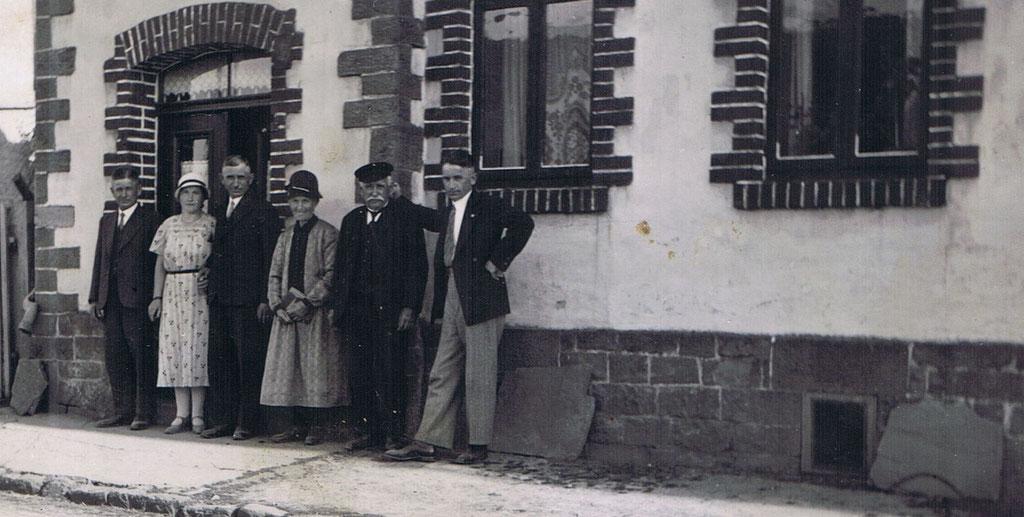 In der Jakobstrasse im Jahr 1929.