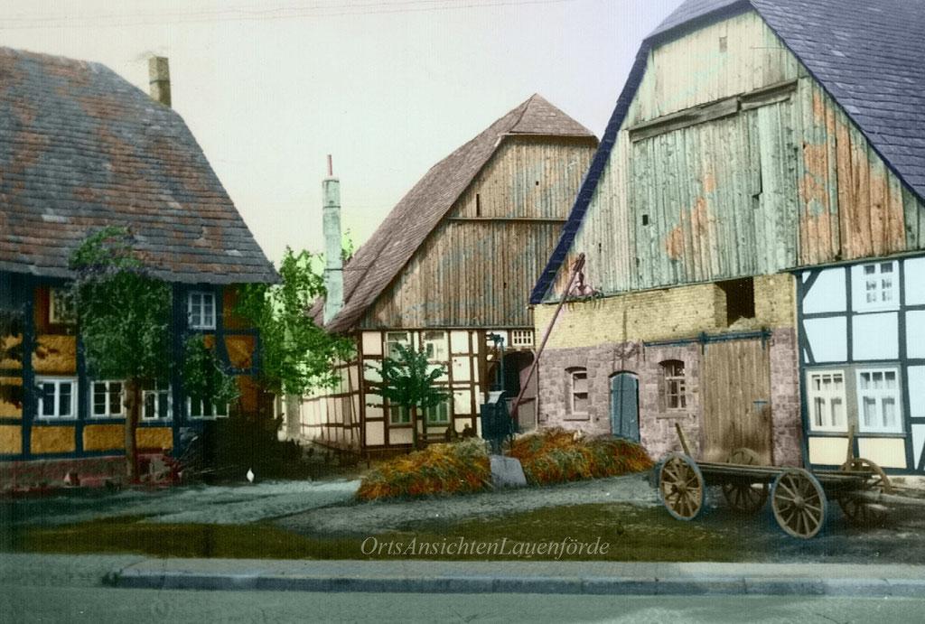 Die ehemaligen Höfe Knüppel, Topp und Grote.