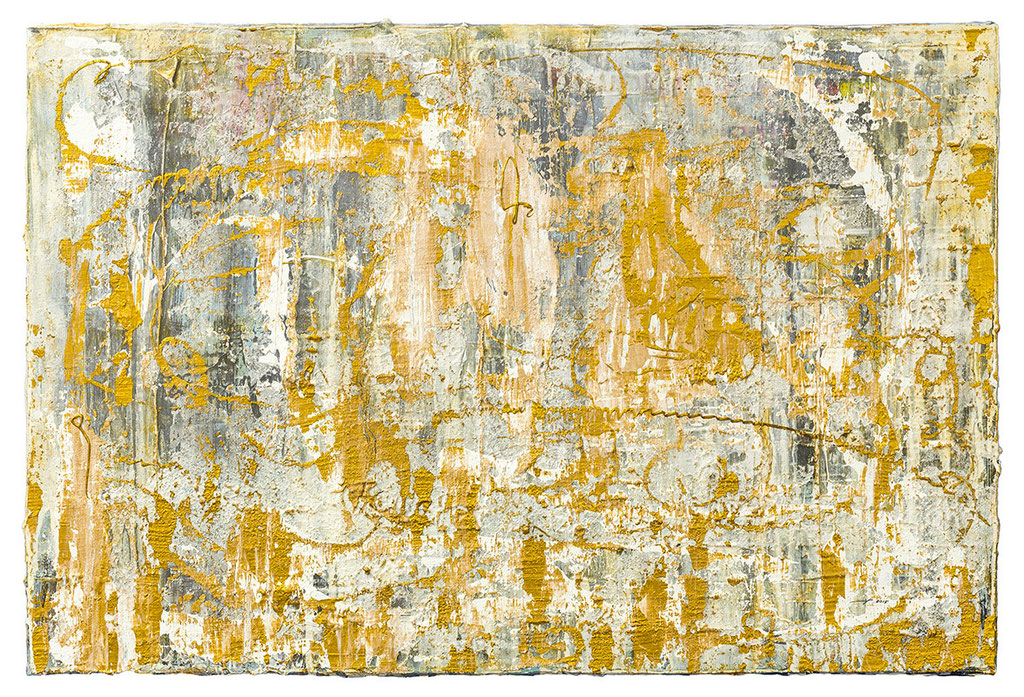 BLICK AUS DEM FENSTER (2015, 60x40cm, Acryl auf Leinwand, MP5012) © Michael Pfenning
