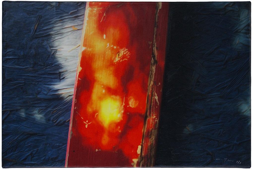 DOMENICA IN ESTATE (2014, 1/8, 60x40cm, MP0079, Photographie, Inkjet-Pigmentdruck auf Leinwand, Acryl) © Michael Pfenning. Verkauft/Sold: 1 von 8