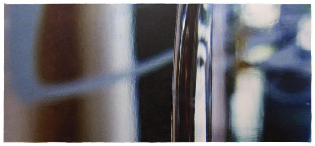 FOX ON A DREAM (2015, 1/8, 145x65cm, MP0094, Photographie, Inkjet-Pigmentdruck auf Leinwand, Acryl) © Michael Pfenning. Verkauft/Sold: 1, 2 von 8