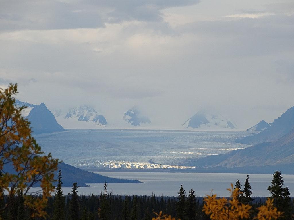 Tazlina Gletscher