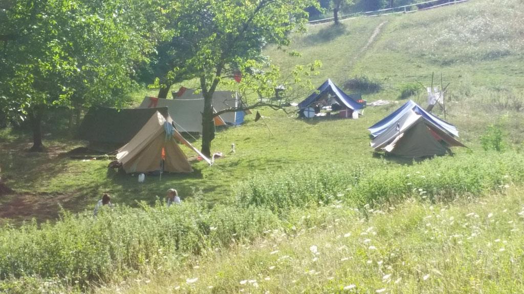 Le camp au soleil