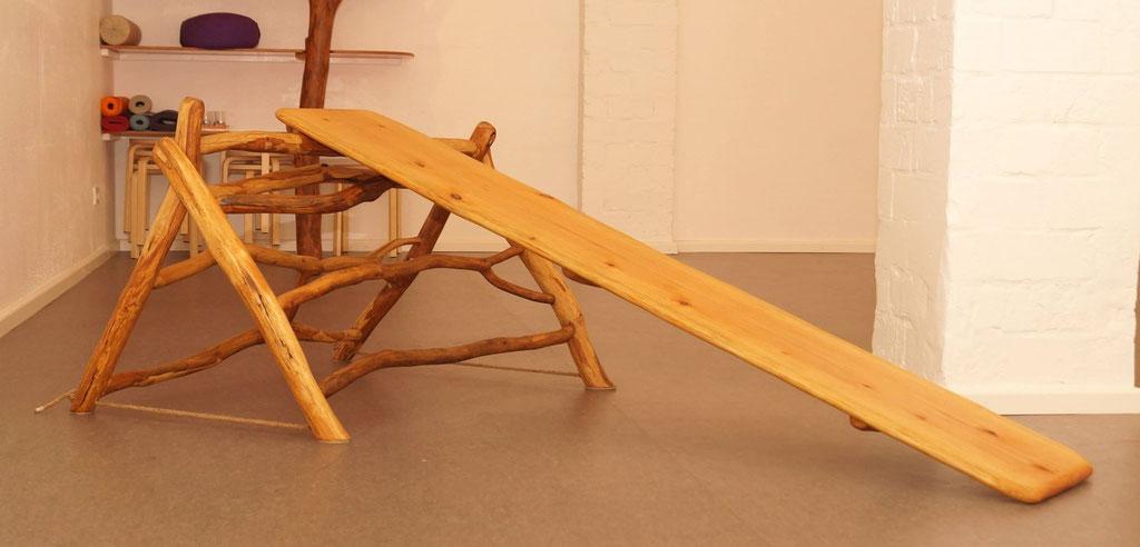 Dreieck mit Rutschbrett in oberer Posititon