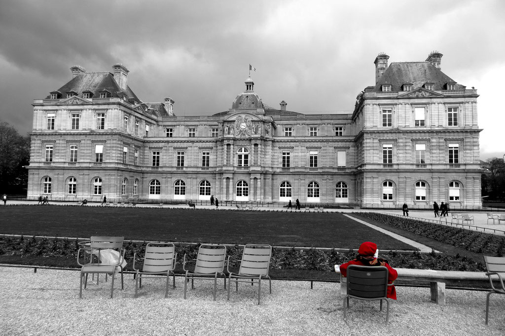 Chaperon rouge au Luxembourg