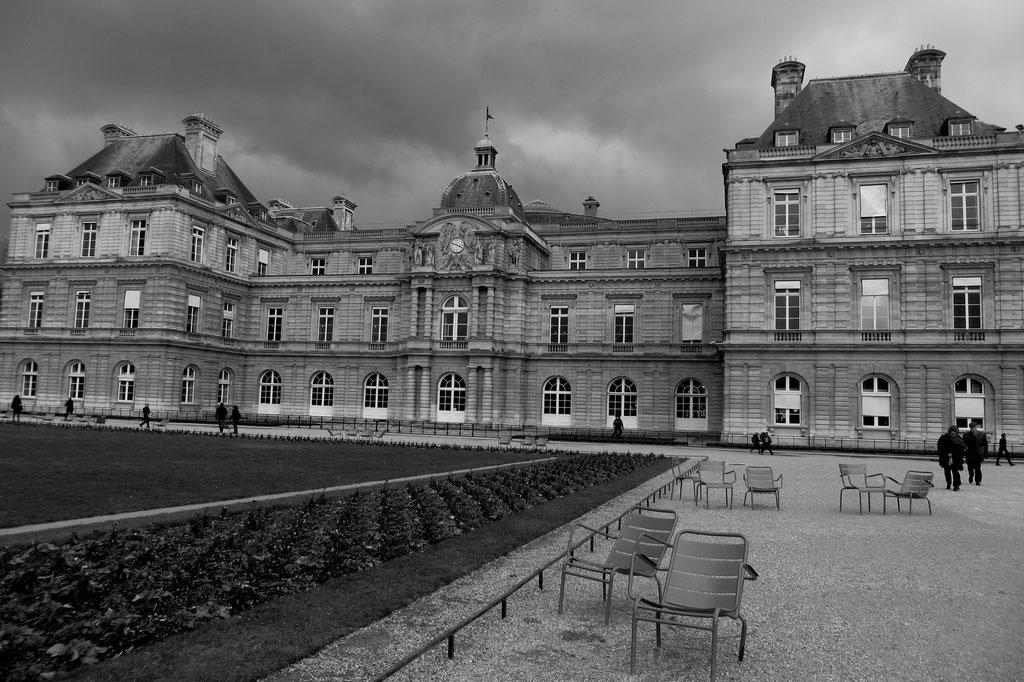 Avant l'orage, Jardin du Luxembourg