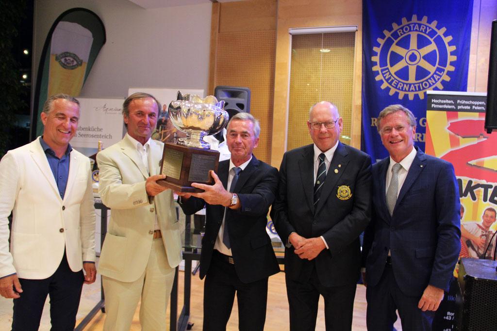 RC Grieskirchen gewinnt Wanderpokal