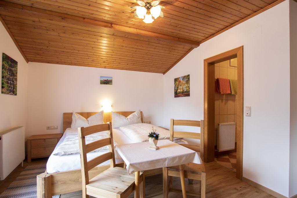Schlafzimmer der Ferienwohnung - Haus Neudegger