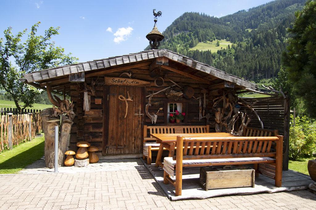 """Die Gartenhütte """"Schafi-Alm"""""""