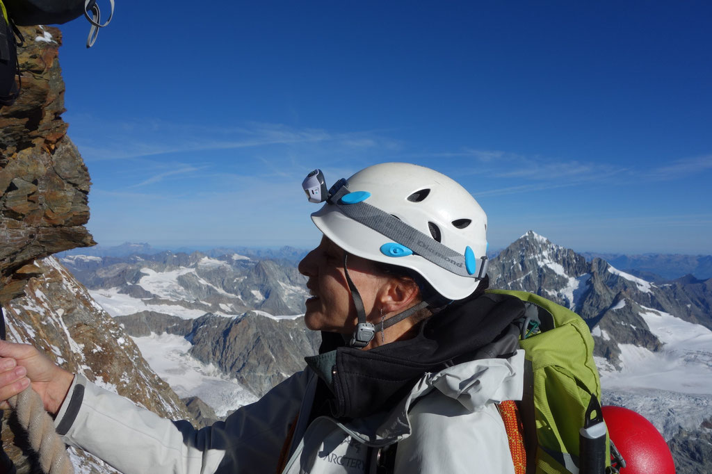 Denise Sigg auf dem Matterhorn