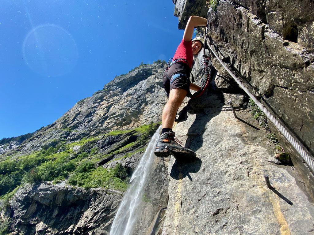 Roman Fritschi Klettersteig Allmenalp Kandersteg