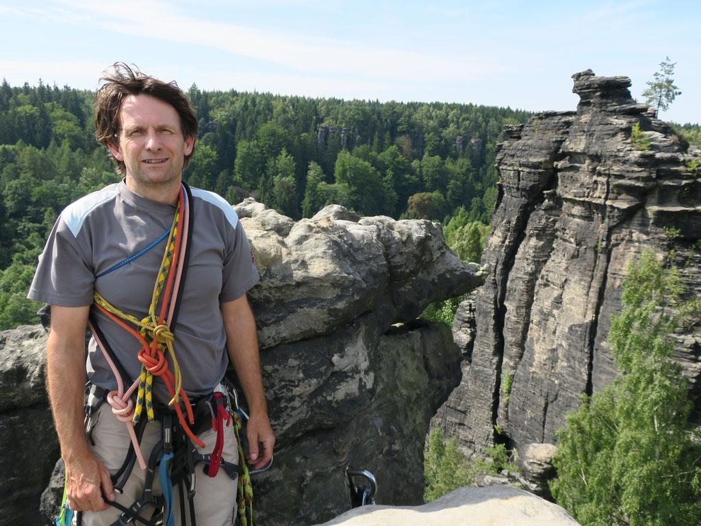 Daniel Fritschi in der Sächsischen Schweiz