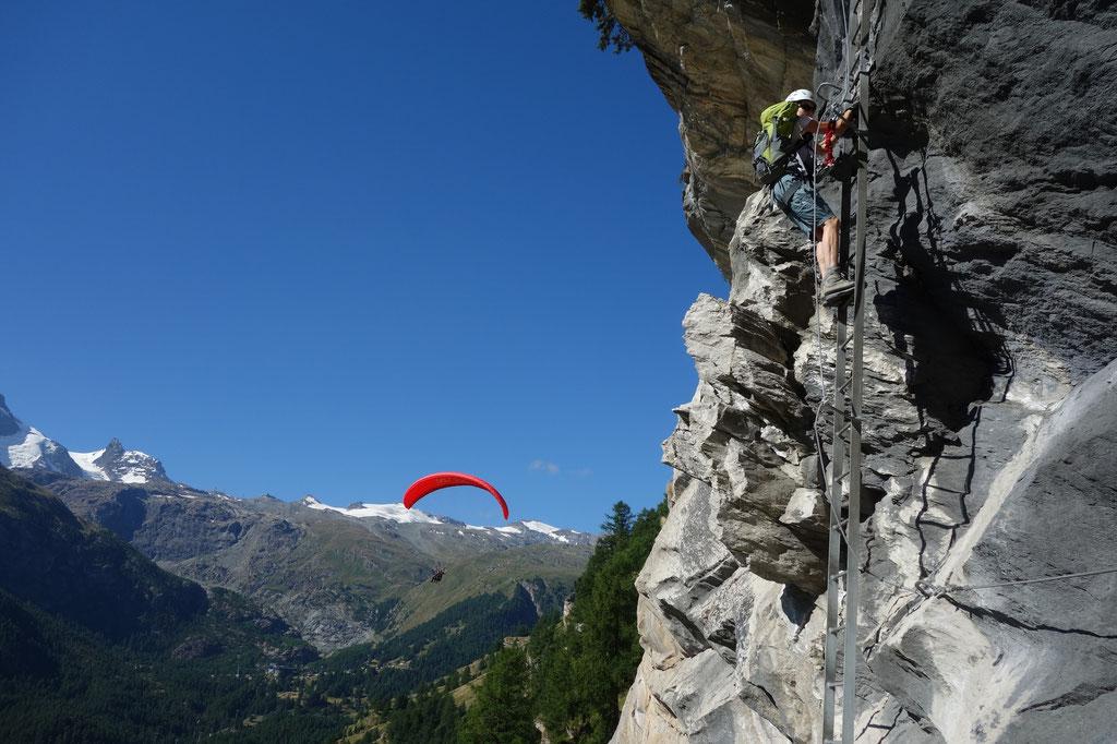 Klettersteig Zermatt : Bruno jelk zermatt