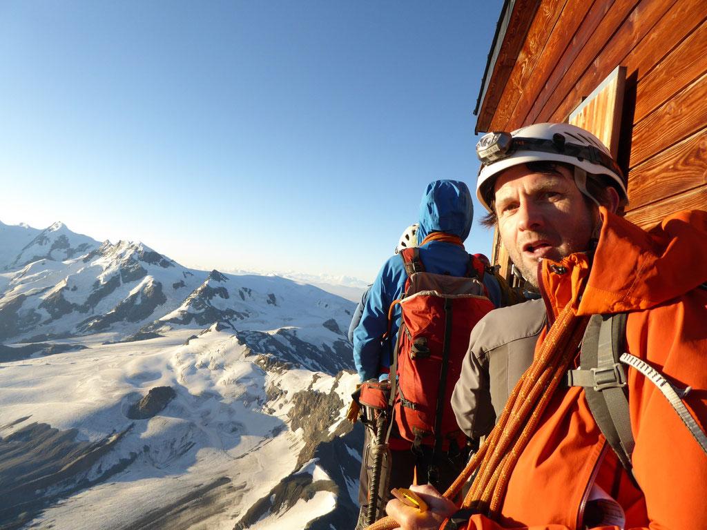 Solvaybivak am Matterhorn