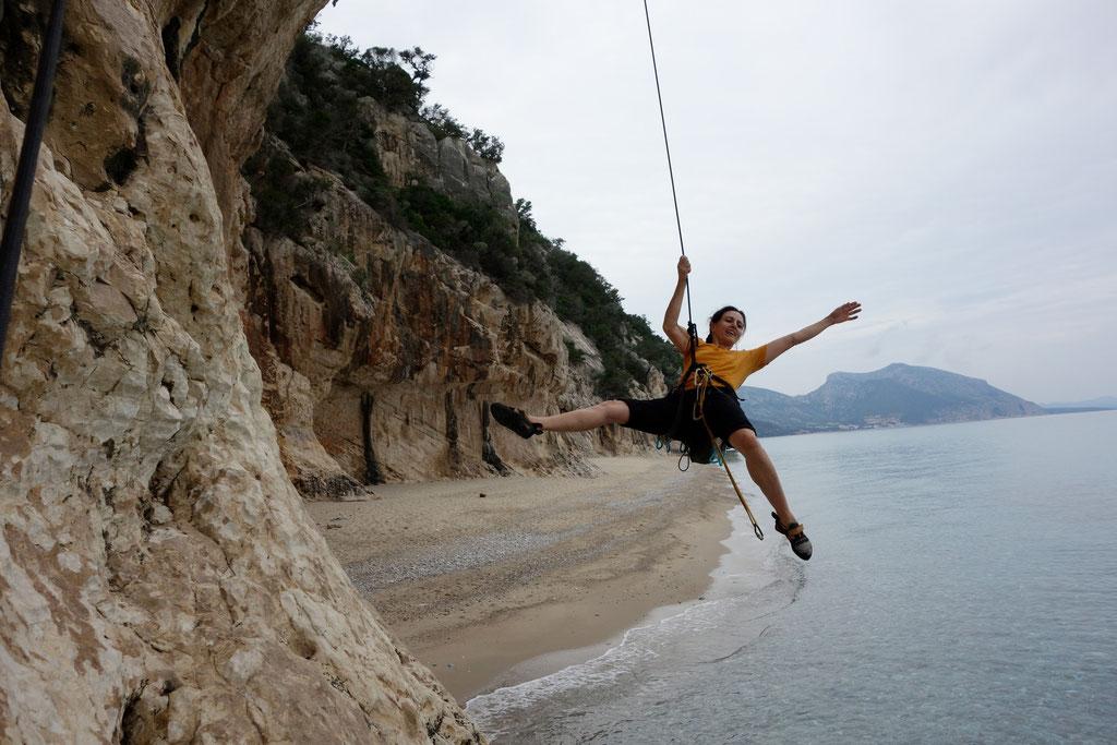 Denise Sigg auf Sardinien