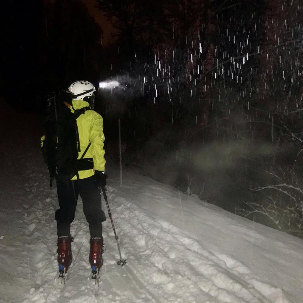 Daniel Fritschi Skitour auf den Uetliberg