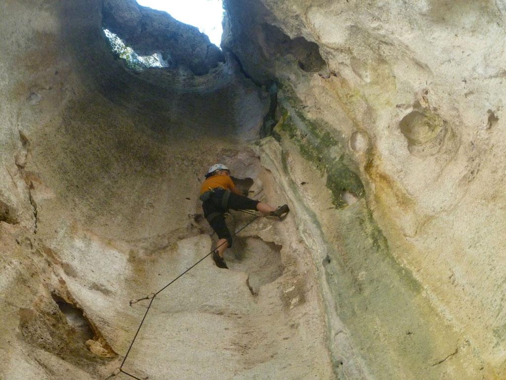 Denise Sigg in Finale Grotta dell`Edera