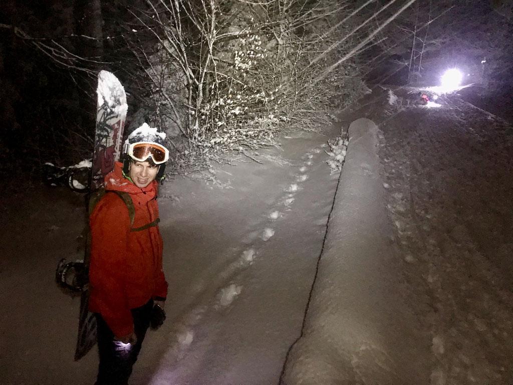 Roman Fritschi Skitour auf den Uetliberg