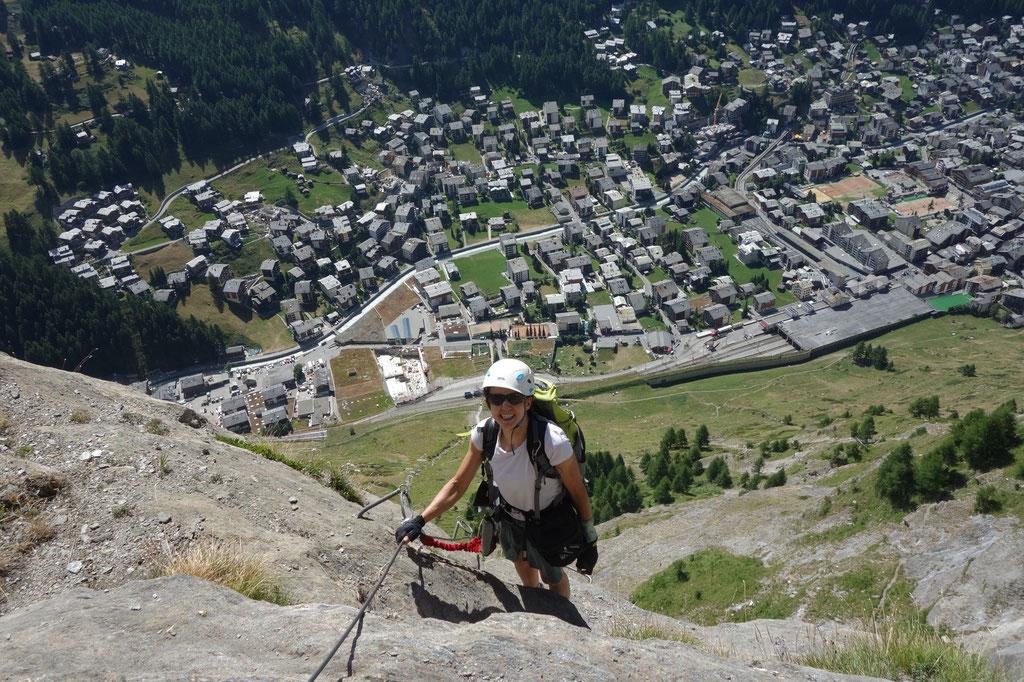 Klettersteig Zermatt : Mammut klettersteig schweifine faszination hochtouren