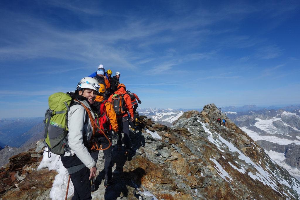 Denise Sigg und Daniel Fritschi auf dem Matterhorn