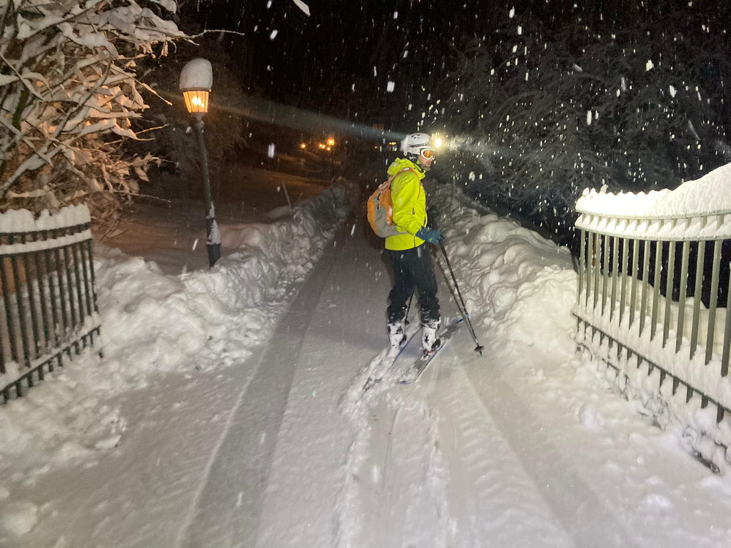Daniel Fritschi Skitour auf den Albis