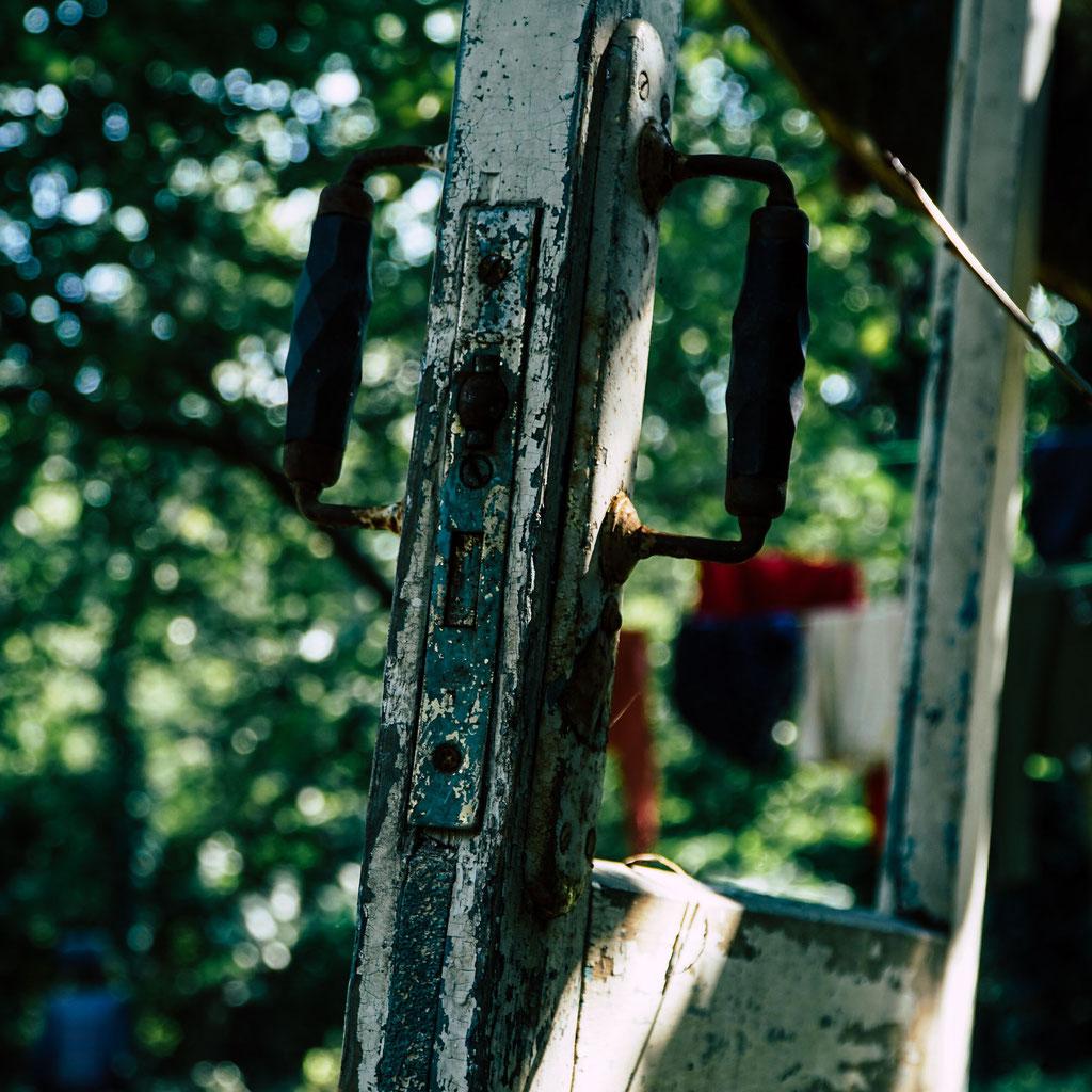 Eine alte Tür
