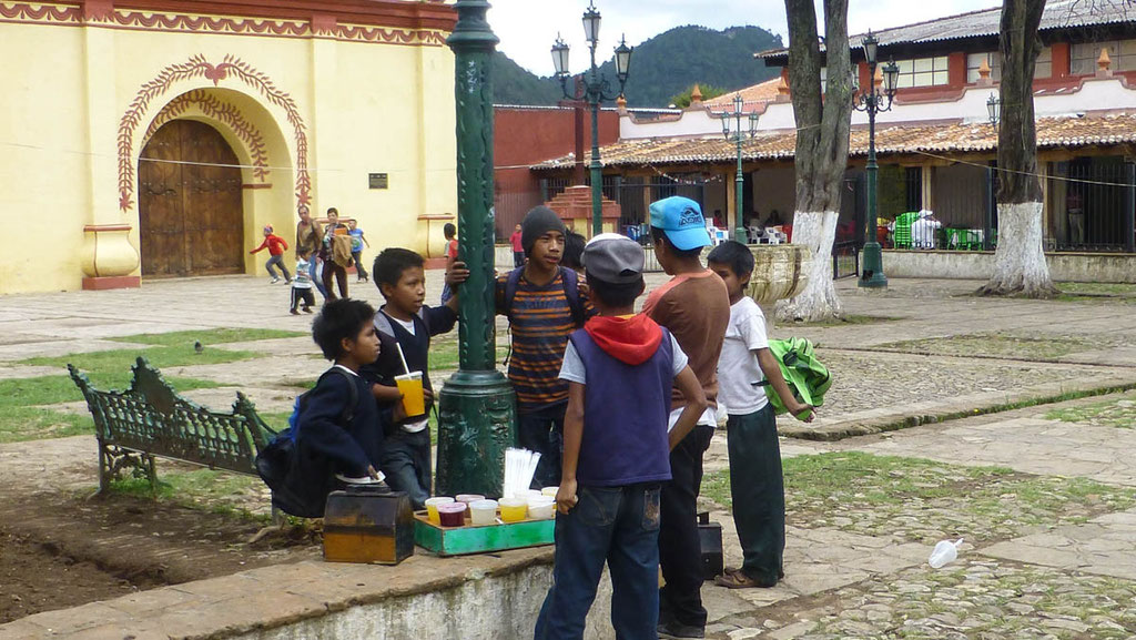 Kinder machen Arbeitspause