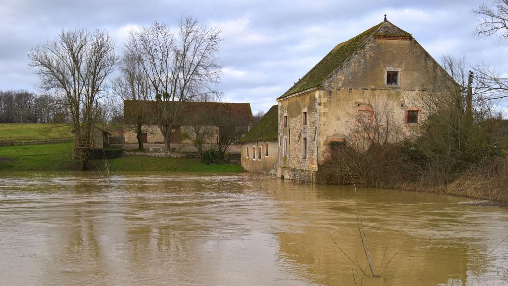 Die Mühle von La Genête