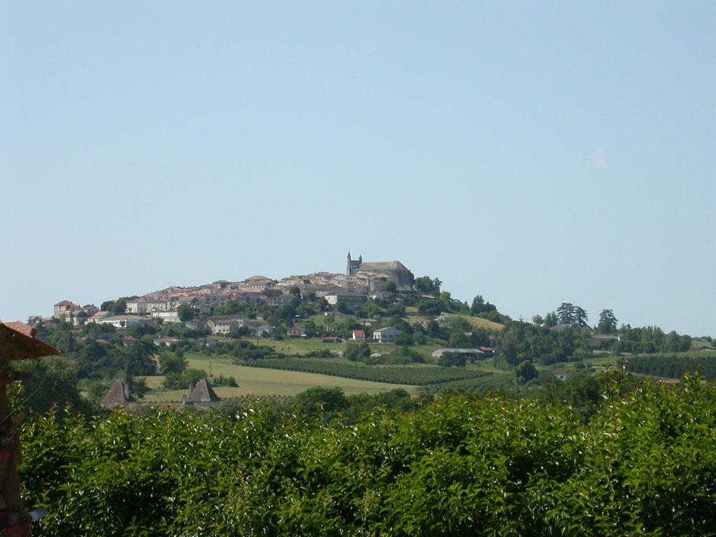 Monflanqun Bastide en hauteur