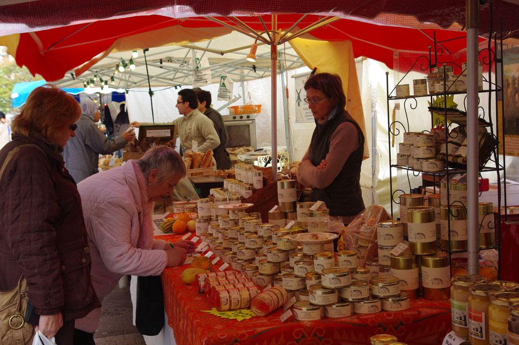 marché de villeréal