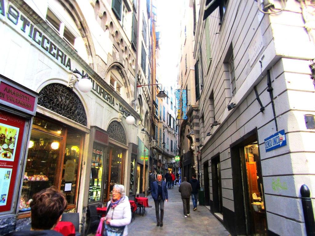 Старый город - экскурсия Генуя