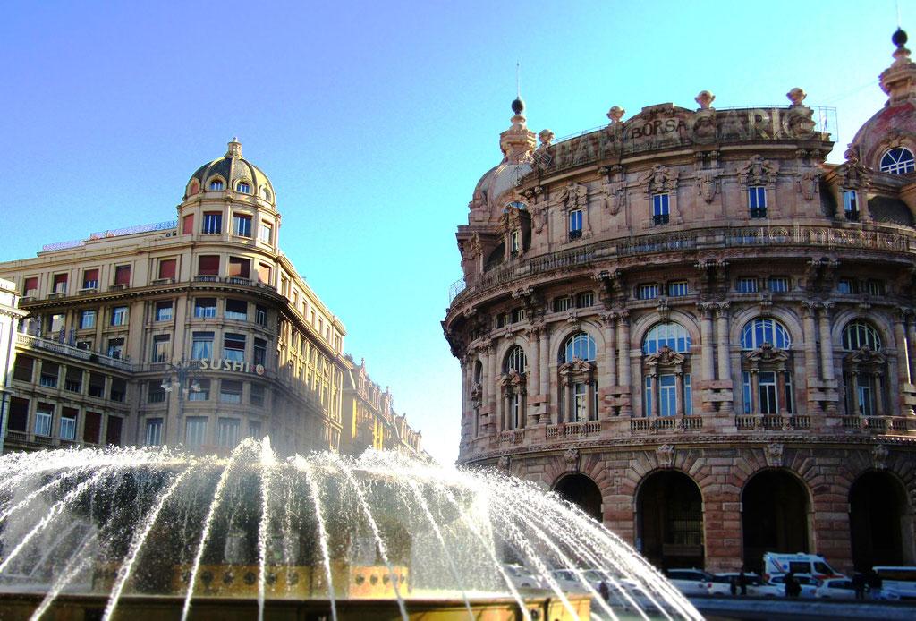 площадь Де Феррари - с гидом по Генуе