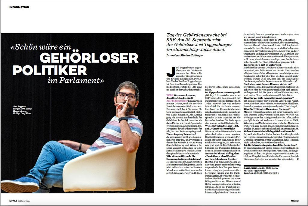 Tele TV Zeitschrift