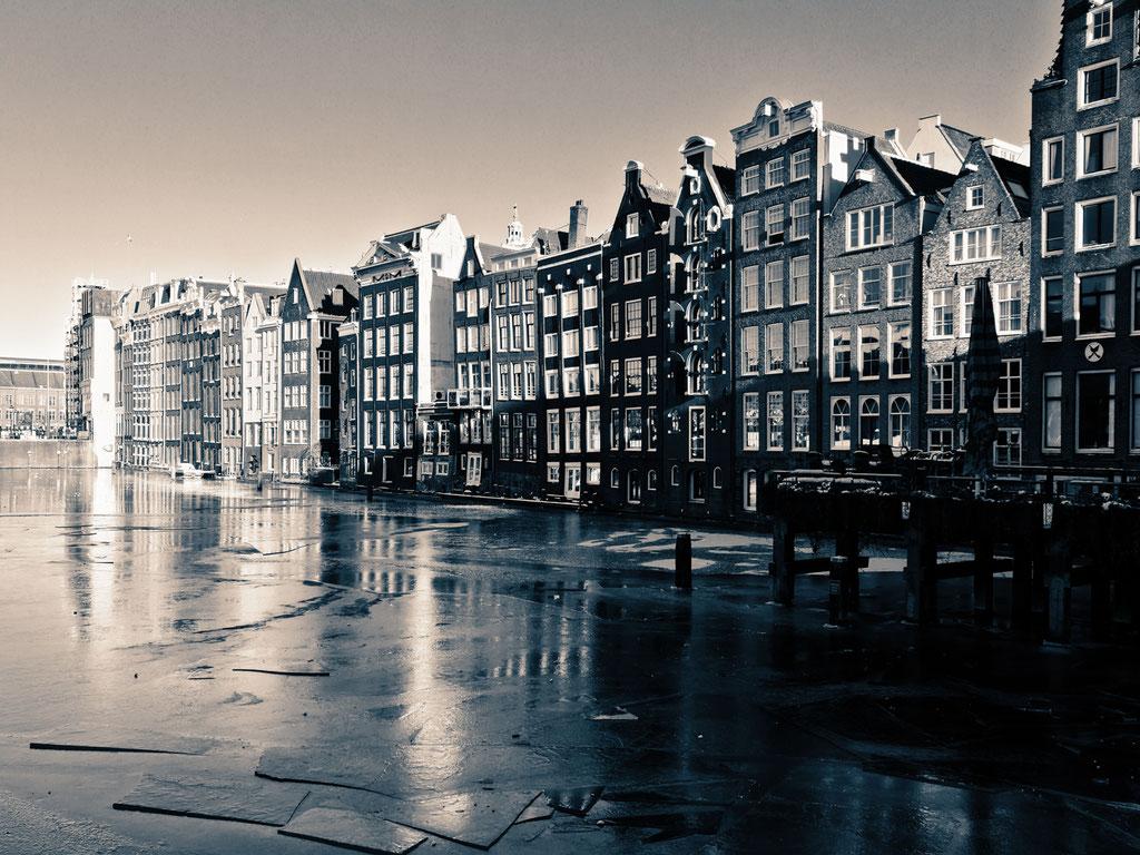 Amsterdam ice