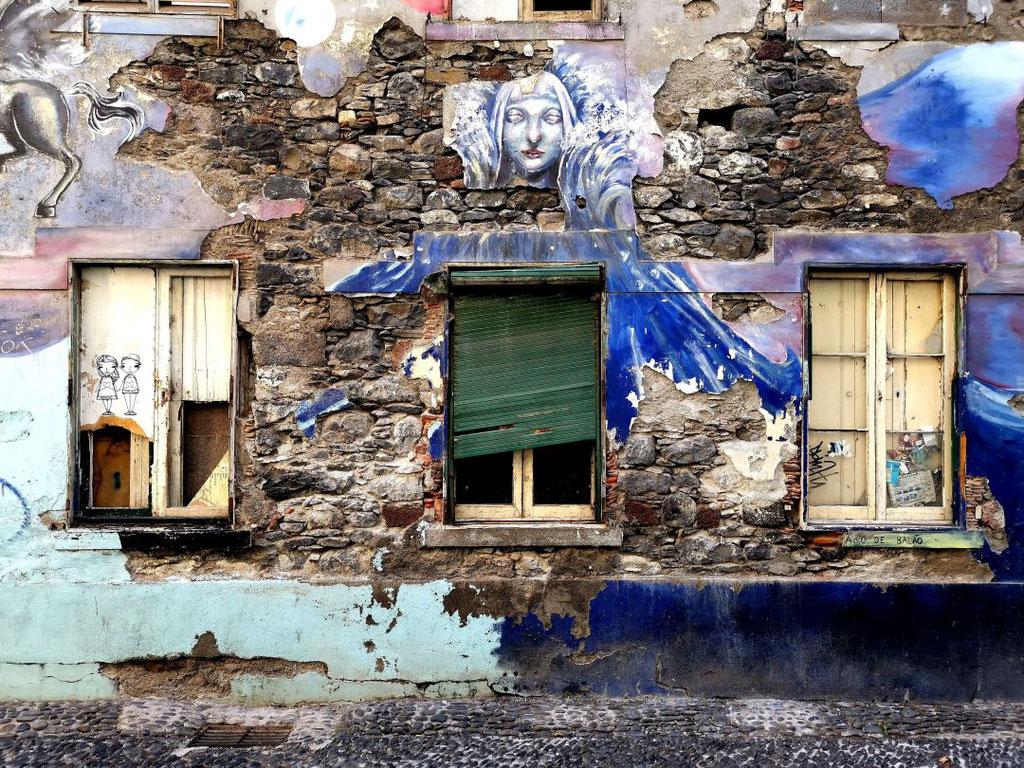 Street art Funchal Madeira